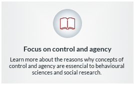 Control and agency